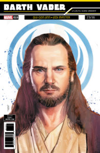 "Darth Vader #19 (Rod Reis ""Qui-Gon Jinn"" Galactic Icon Variant Cover) (08.08.2018)"