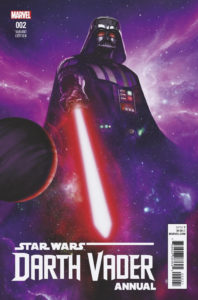 Darth Vader Annual #2 (Rahzzah Variant Cover) (18.07.2018)
