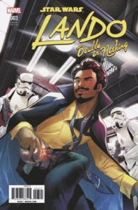 Lando: Double or Nothing #3 (Jamal Campbell Variant Cover) (25.07.2018)