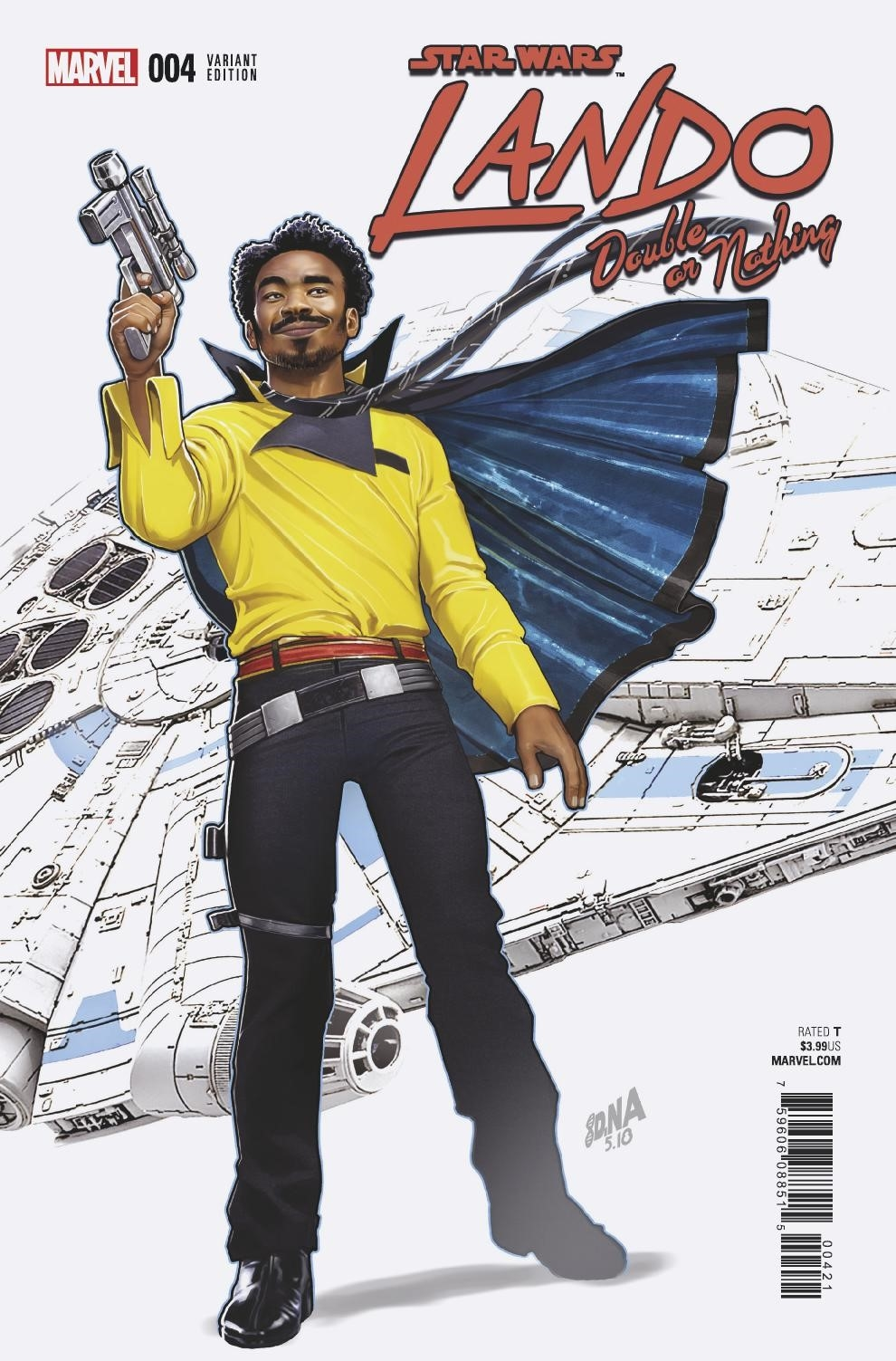 Lando: Double or Nothing #4 (David Nakayama Variant Cover) (29.09.2018)