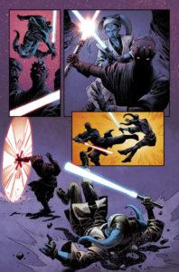 Darth Maul vs Eldra Kaitis in Farbe 2