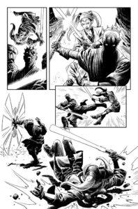 Darth Maul vs Eldra Kaitis Zeichnung 2