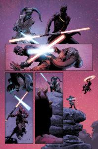Darth Maul vs Eldra Kaitis in Farbe 3