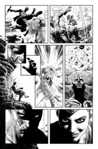 Darth Maul vs Eldra Kaitis Zeichnung 4