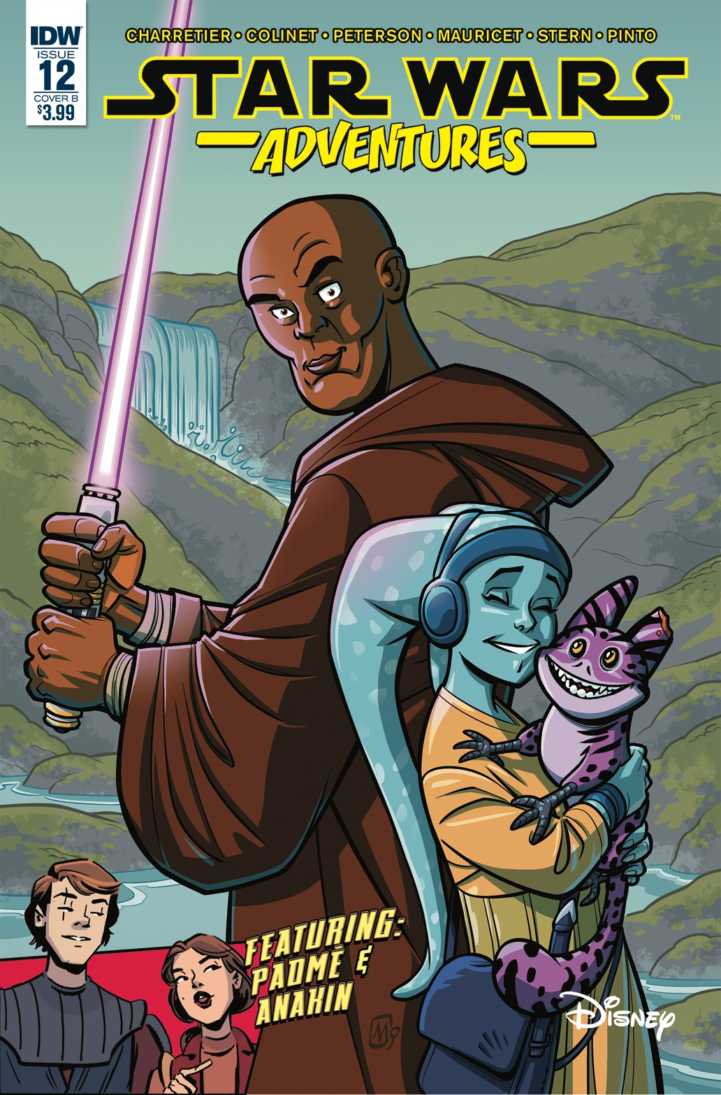 Star Wars Adventures #12 (Cover B by Alain Mauricet) (25.07.2018)