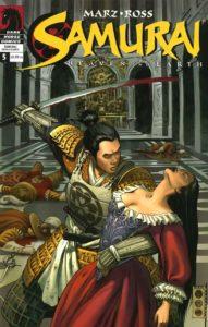 Samurai: Heaven and Earth, Cover von Luke Ross