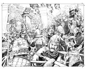 Samurai: Heaven and Earth - Schlachtszene