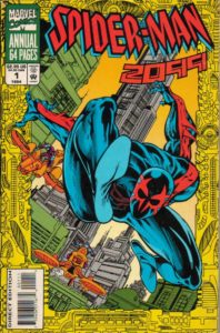 Spiderman 2099 Cover von Luke Ross