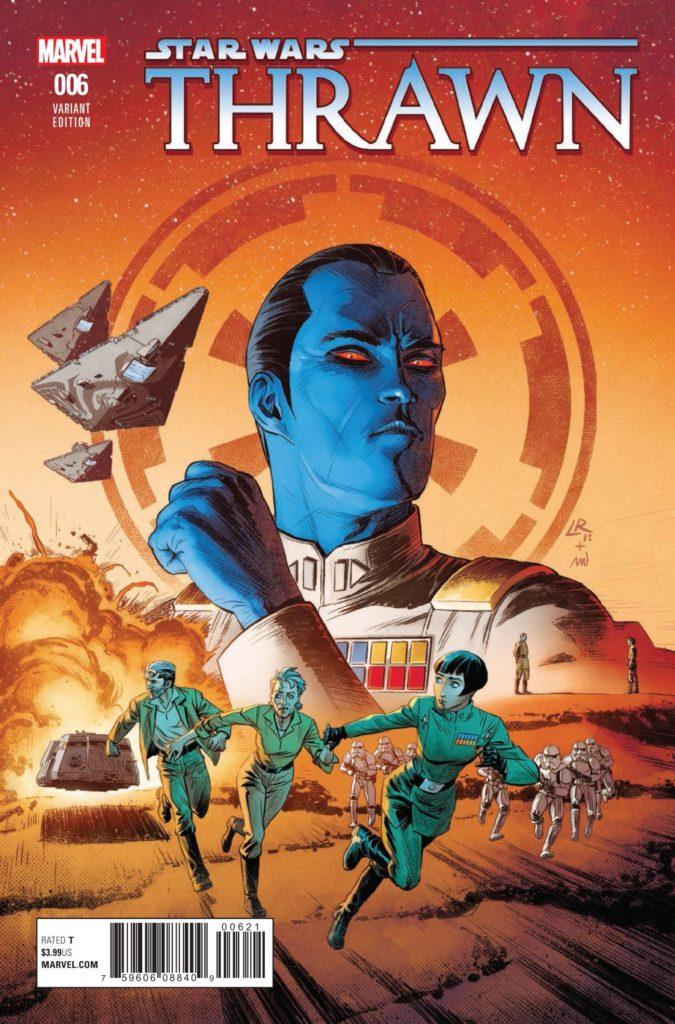Thrawn #6 (Luke Ross Variant Cover) (11.07.2018)
