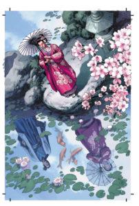 Yoshiko und Shiro aus Samurai: Heaven and Earth