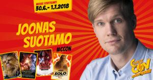 Joonas Suotamo bei der Comic Con Germany 2018