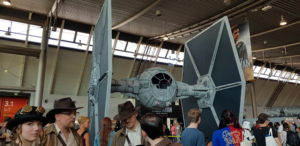 Modell eines TIE-Fighters