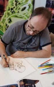 Alain Mauricet zeichnet Chewbacca 2