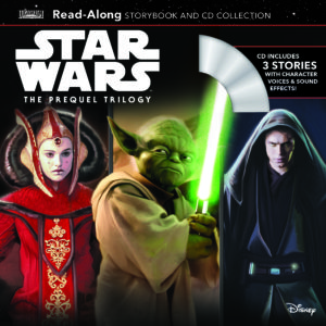 Star Wars: The Prequel Trilogy - Read-Along Storybook and CD Collection (05.03.2019)