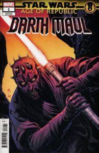 Age of Republic: Darth Maul #1 (Luke Ross Variant Cover) (12.12.2018)