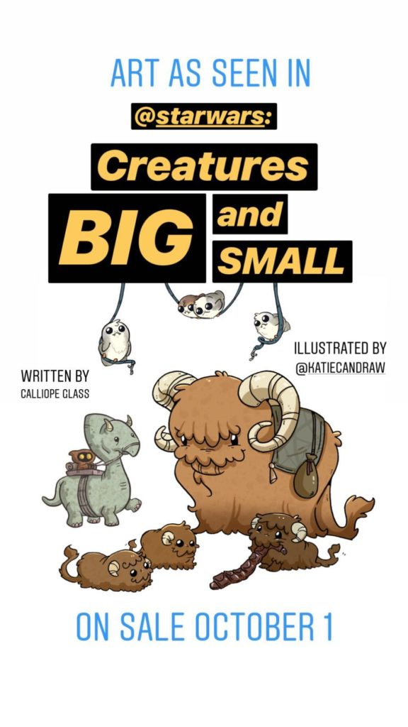 Creatures Big and Small (01.10.2019)