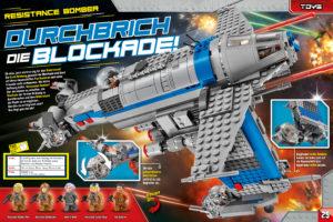 LEGO Star Wars Magazin #37 - Vorschau Seiten 24 und 25