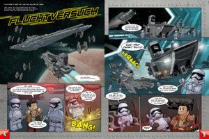 LEGO Star Wars Magazin #37 - Vorschau Seiten 4 und 5