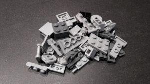 LEGO Star Wars Magazin #37 - AT-ST - Bauteile