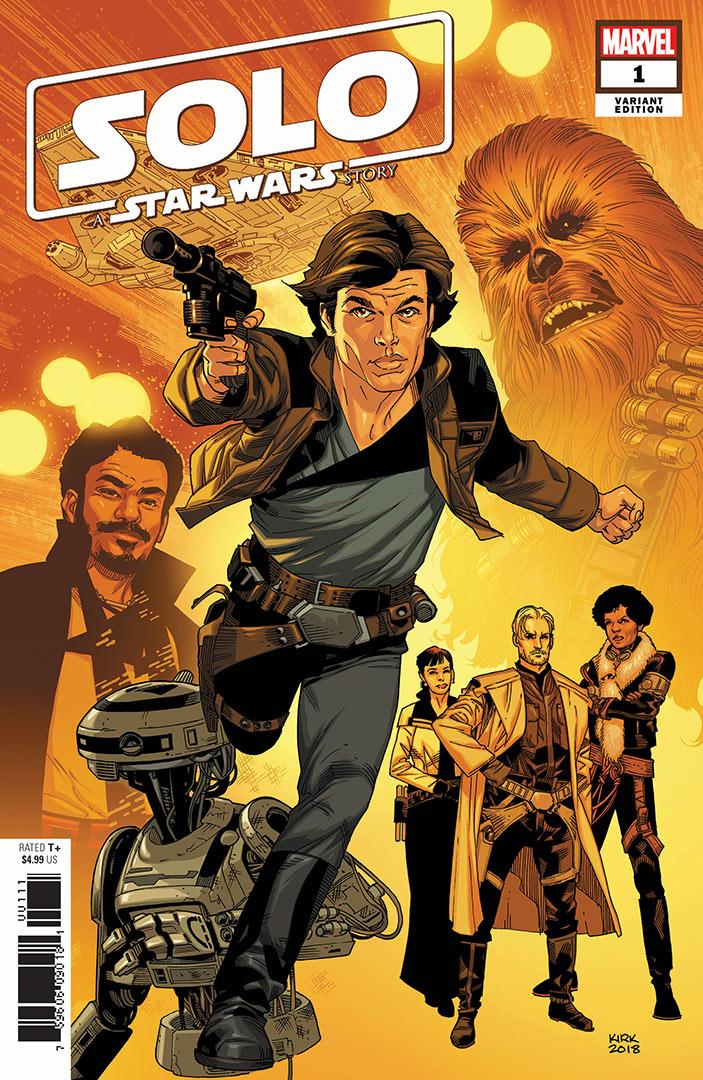 Solo #1 (Leonard Kirk Variant Cover) (10.10.2018)
