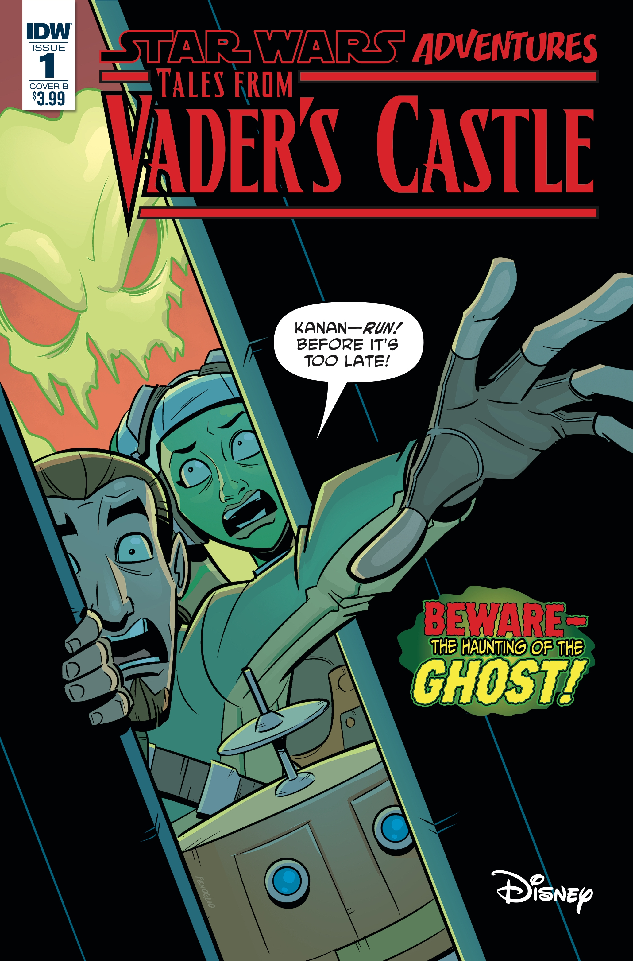 Star Wars Adventures: Tales from Vader's Castle #1 (Cover B by Chris Fenoglio) (03.10.2018)