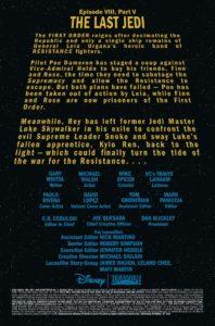The Last Jedi #5 Vorschauseite 1