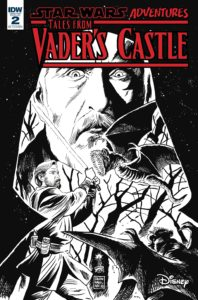Star Wars Adventures: Tales from Vader's Castle #2 (Francesco Francavilla Black & White Variant Cover) (10.10.2018)