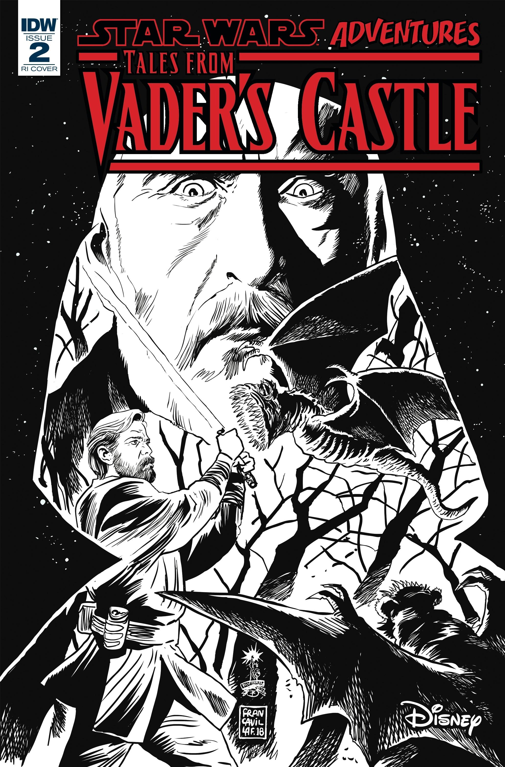 Star Wars Adventures: Tales from Vader's Castle #2 (Francesco Francavilla Black & White Variant Cover) (10.10.2018)
