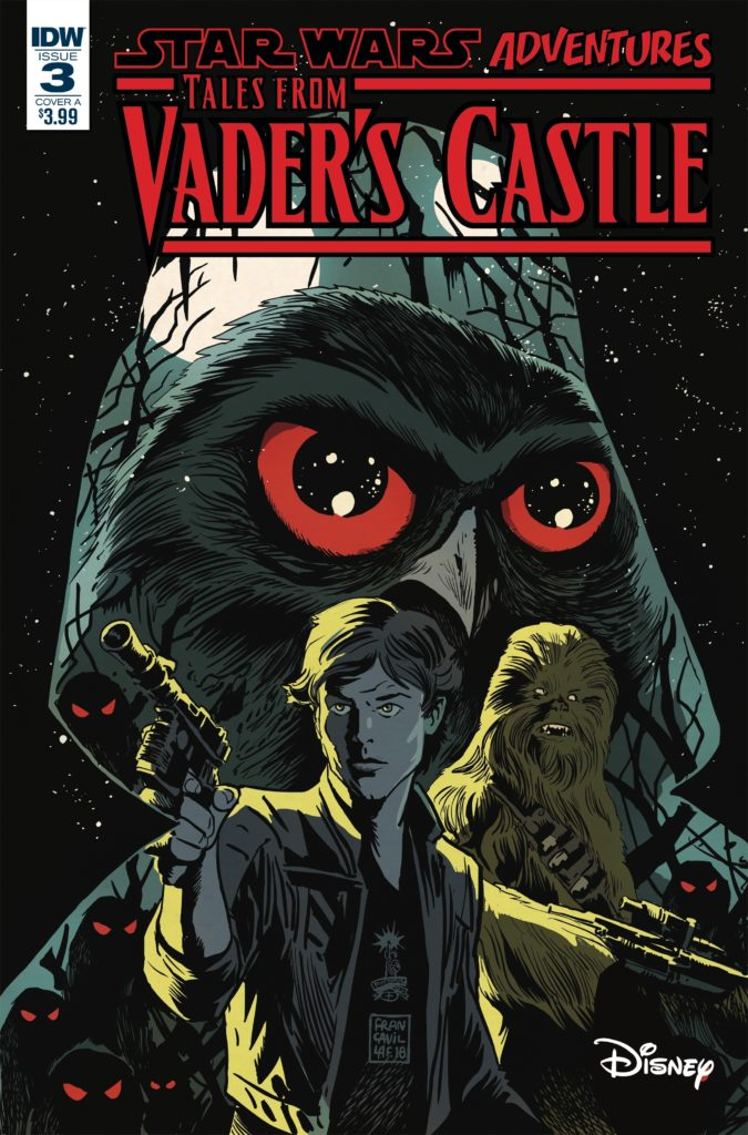 Star Wars Adventures: Tales from Vader's Castle #3 (Cover A by Francesco Francavilla) (17.10.2018)