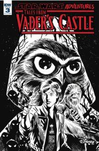 Star Wars Adventures: Tales from Vader's Castle #3 (Francesco Francavilla Black & White Variant Cover) (17.10.2018)