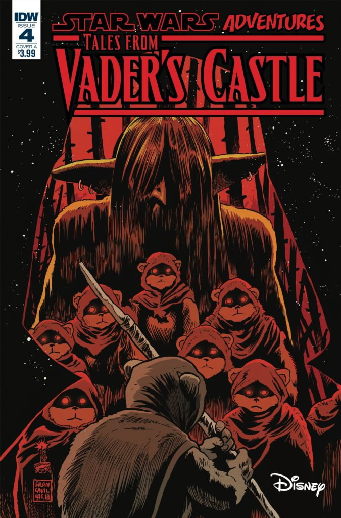 Star Wars Adventures: Tales from Vader's Castle #4 (Cover A by Francesco Francavilla) (24.10.2018)