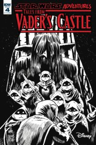 Star Wars Adventures: Tales from Vader's Castle #4 (Francesco Francavilla Black & White Variant Cover) (24.10.2018)