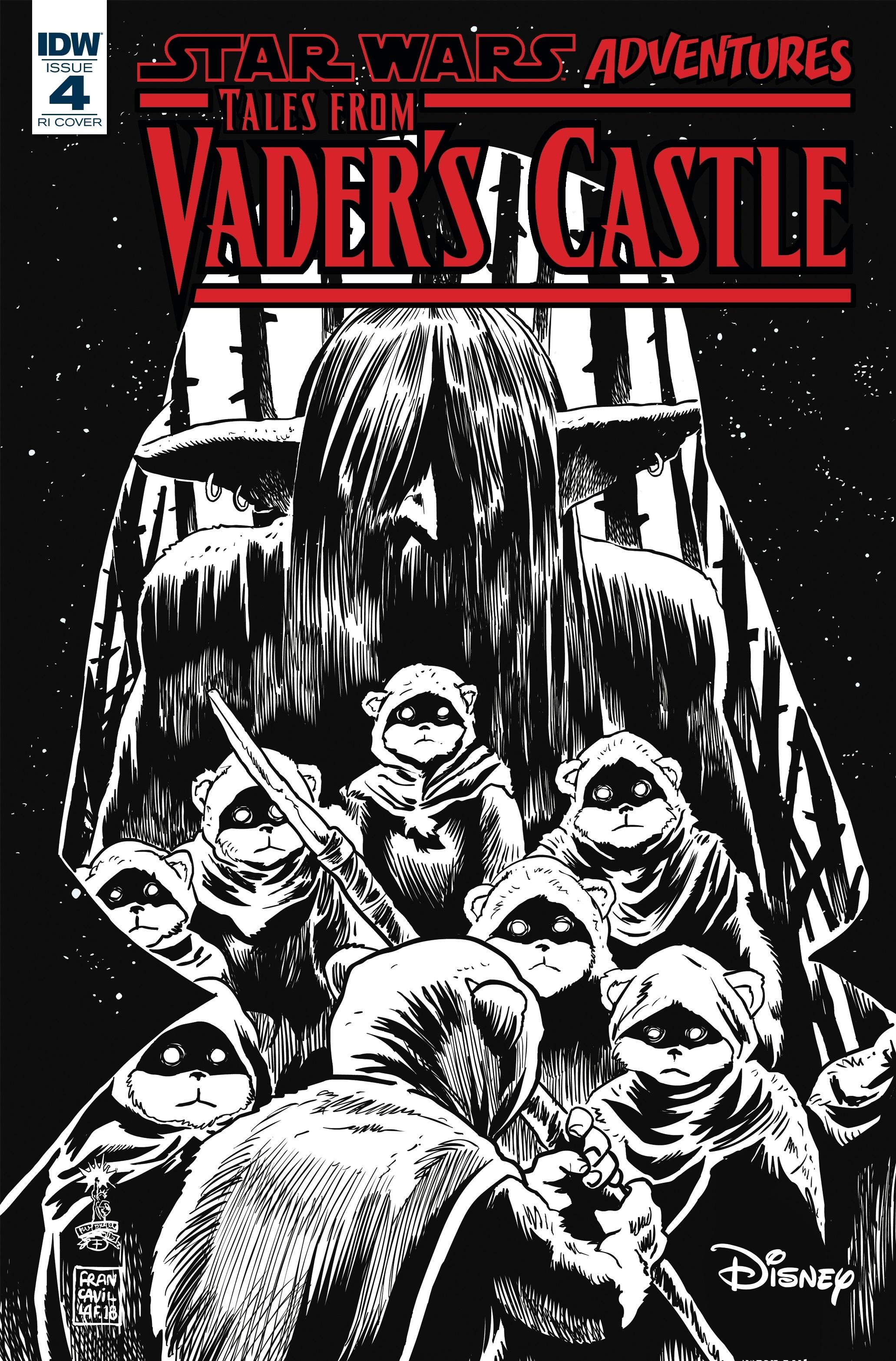 Star Wars Adventures: Tales from Vader's Castle #4 (Francesco Francavilla Black & White Variant Cover) (24.10.2018)