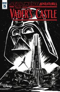 Star Wars Adventures: Tales from Vader's Castle #5 (Francesco Francavilla Black & White Variant Cover) (31.10.2018)