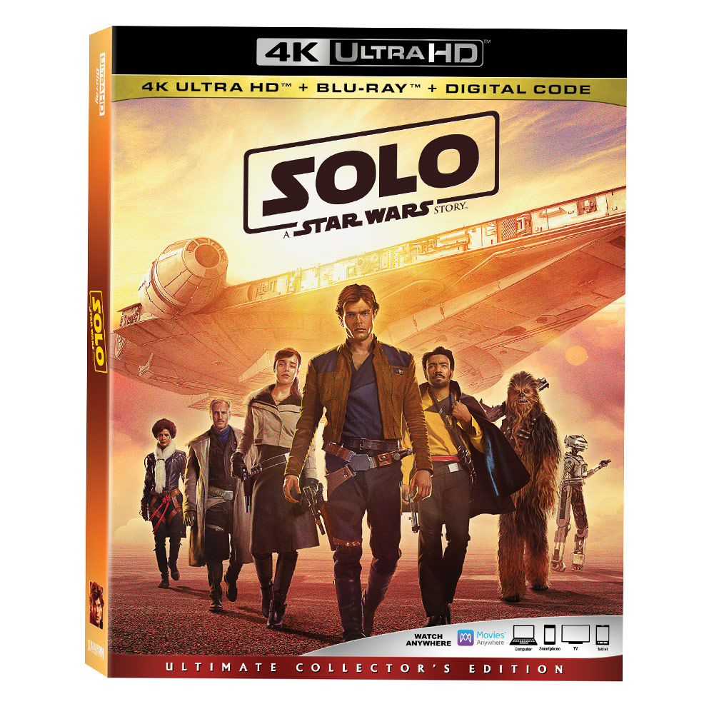 Solo: A Star Wars Story - 4K (25.09.2018)