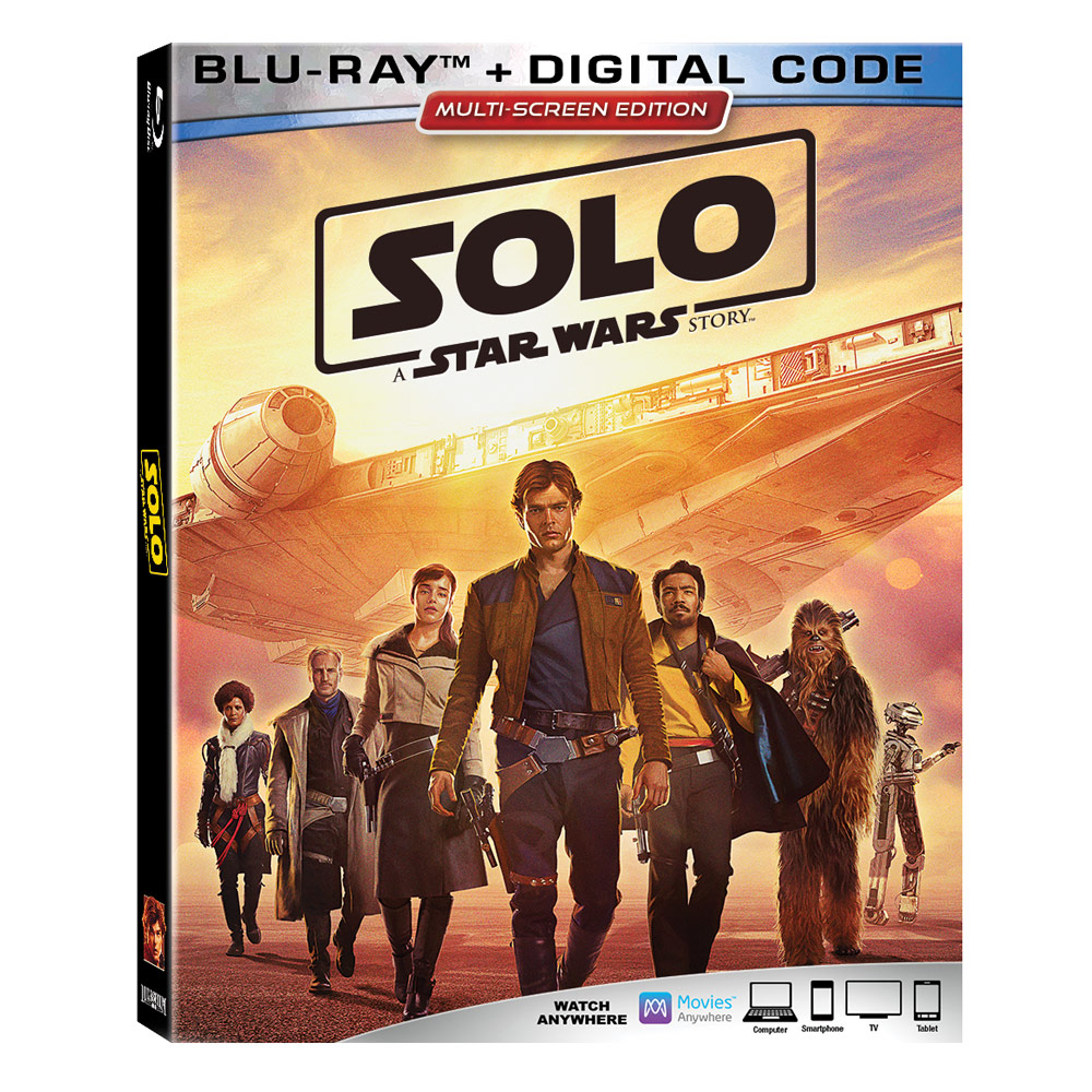 Solo: A Star Wars Story - Blu-ray (25.09.2018)