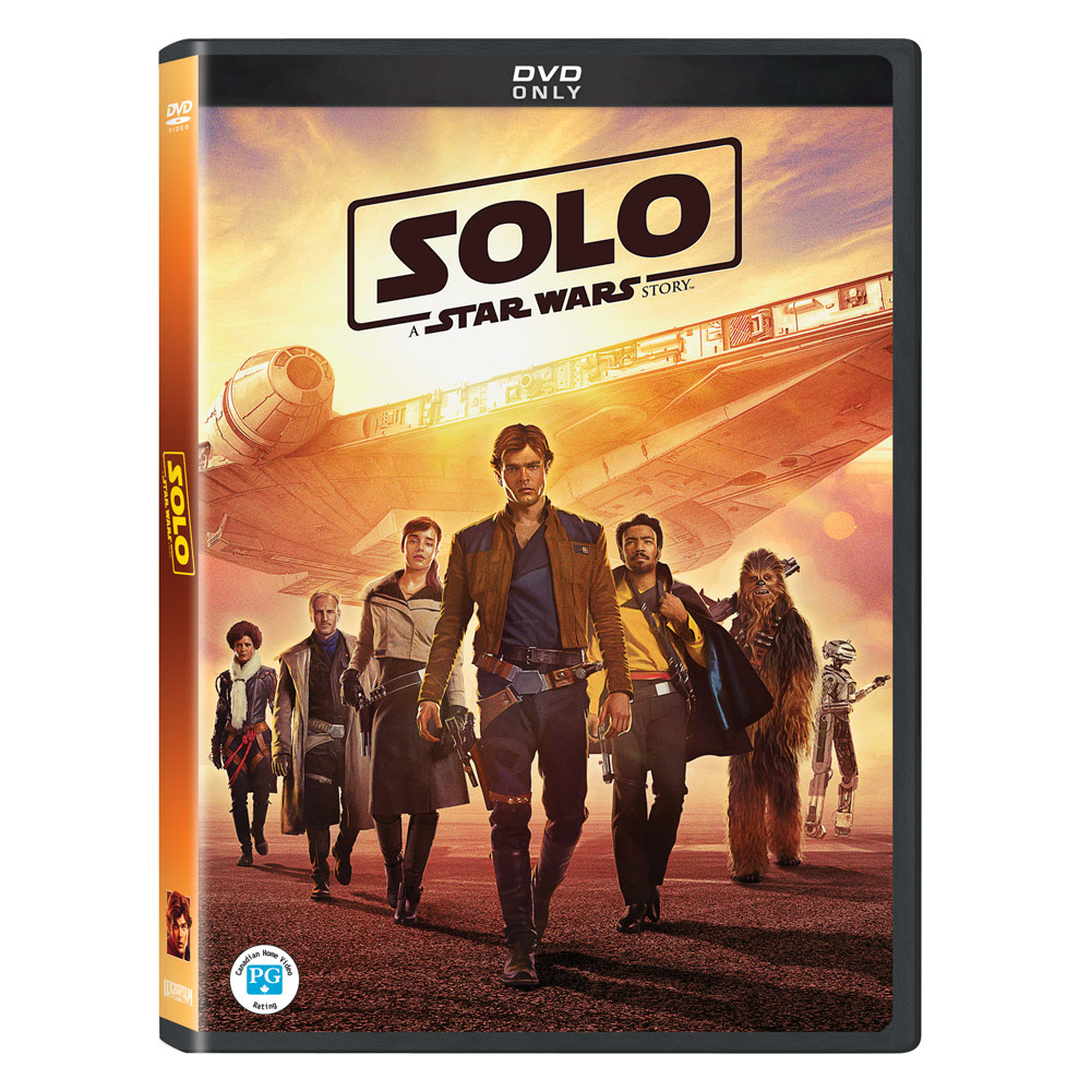Solo: A Star Wars Story - DVD (25.09.2018)