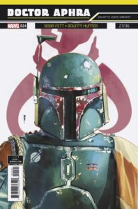 """Doctor Aphra #24 (Rod Reis Galactic Icon """"Boba Fett"""" Variant Cover) (26.09.2018)"""