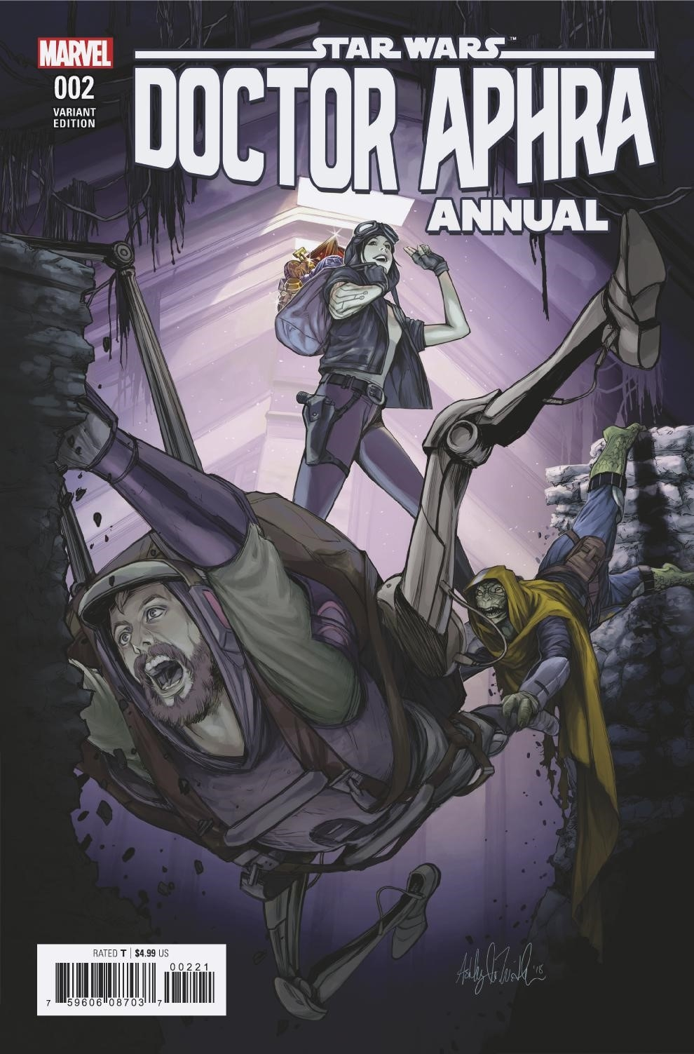 Doctor Aphra Annual #2 (Ashley Witter Variant Cover) (05.09.2018)