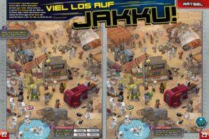 LEGO Star Wars Magazin #39 - Vorschau Seiten 22 und 23