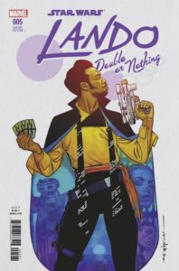 Lando: Double or Nothing #5 (Brian Stelfreeze Variant Cover) (19.09.2018)