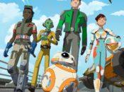 Star Wars Resistance - Heroes Poster (Hochformat)