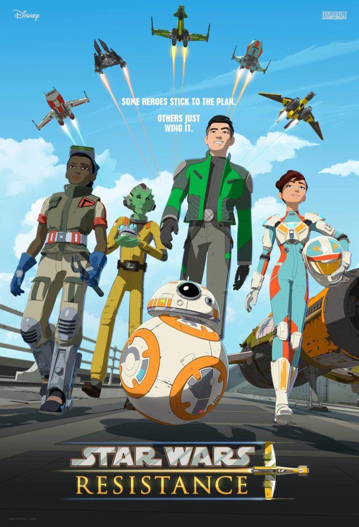 Star Wars Resistance - Heroes Poster (Retrato)