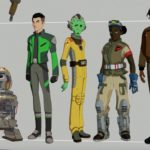 Team Fireball aus Star Wars Resistance