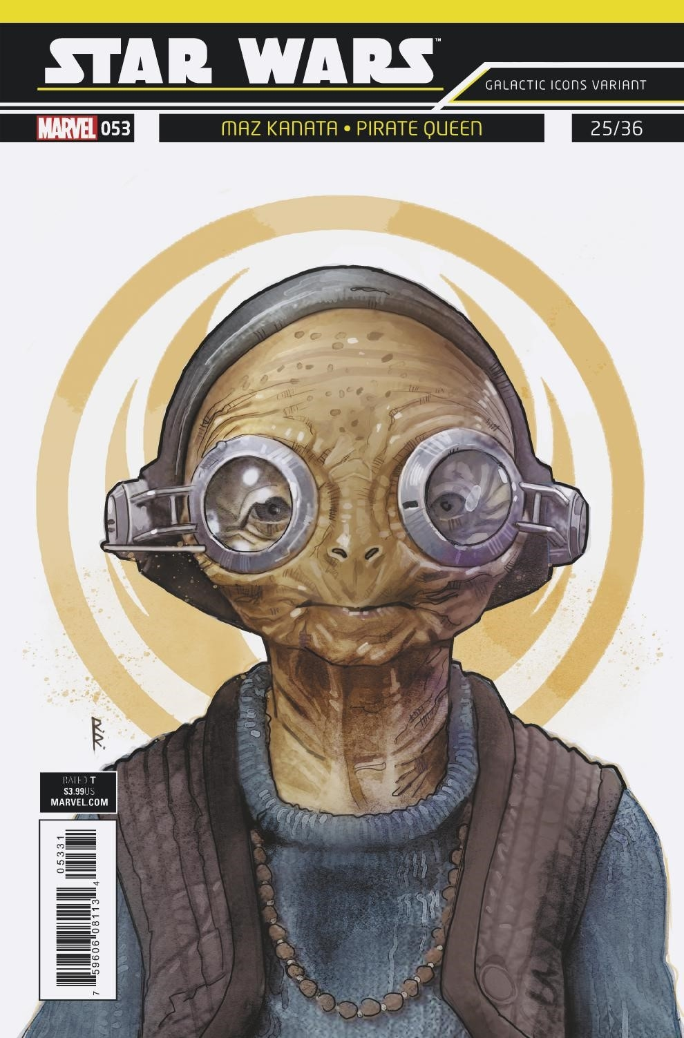 "Star Wars #53 (Rod Reis Galactic Icon ""Maz Kanata"" Variant Cover) (05.09.2018)"