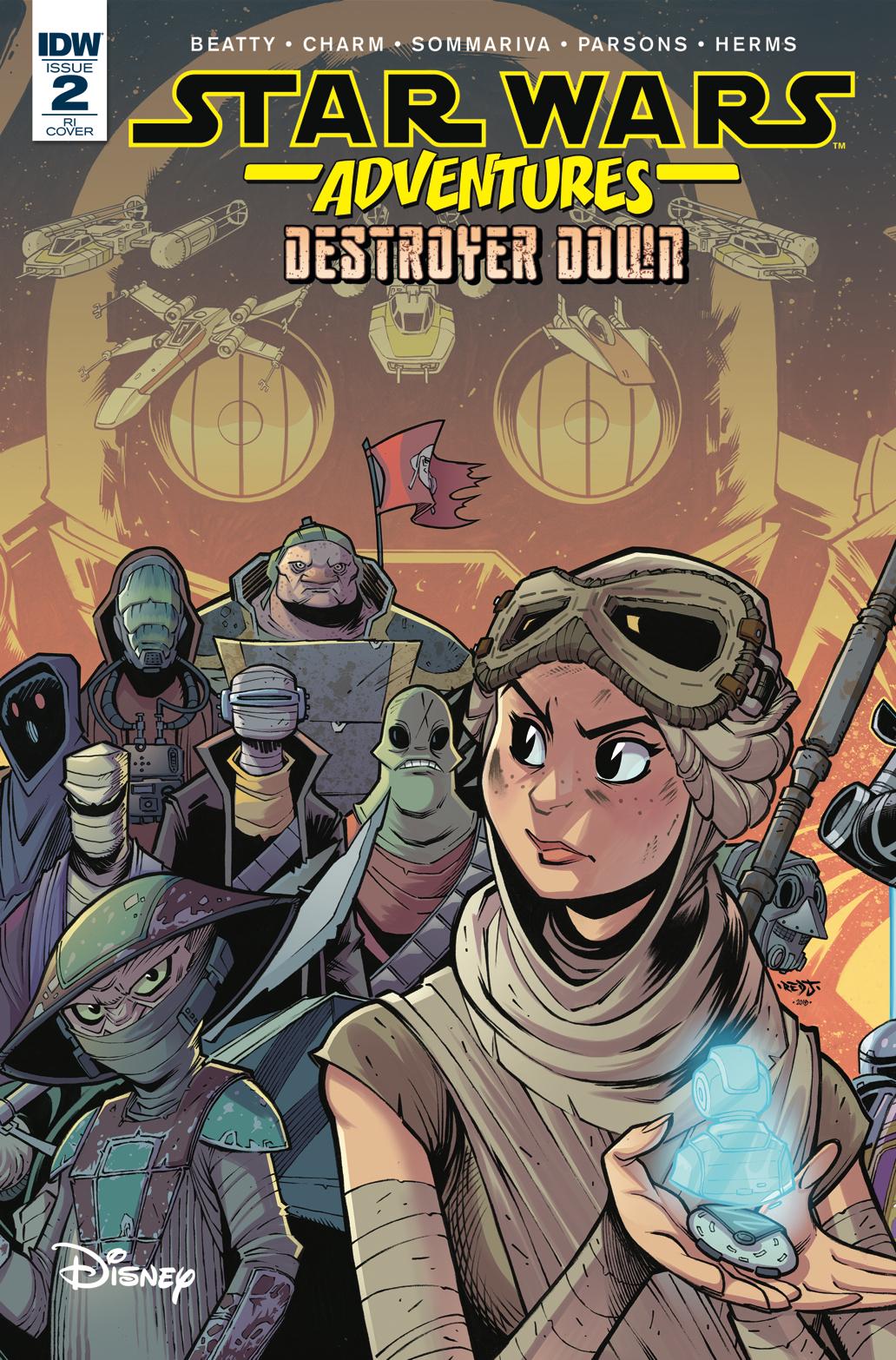 Star Wars Adventures: Destroyer Down #2 (Jon Sommariva Variant Cover) (November 2018)