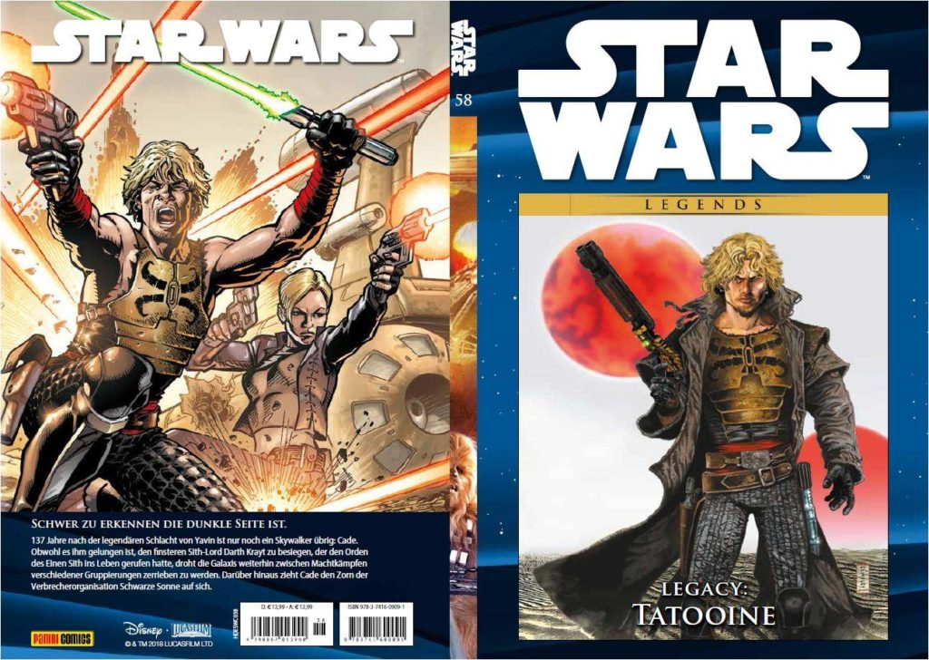 Star Wars Comic-Kollektion, Band 58: Legacy VII: Tatooine (19.11.2018)