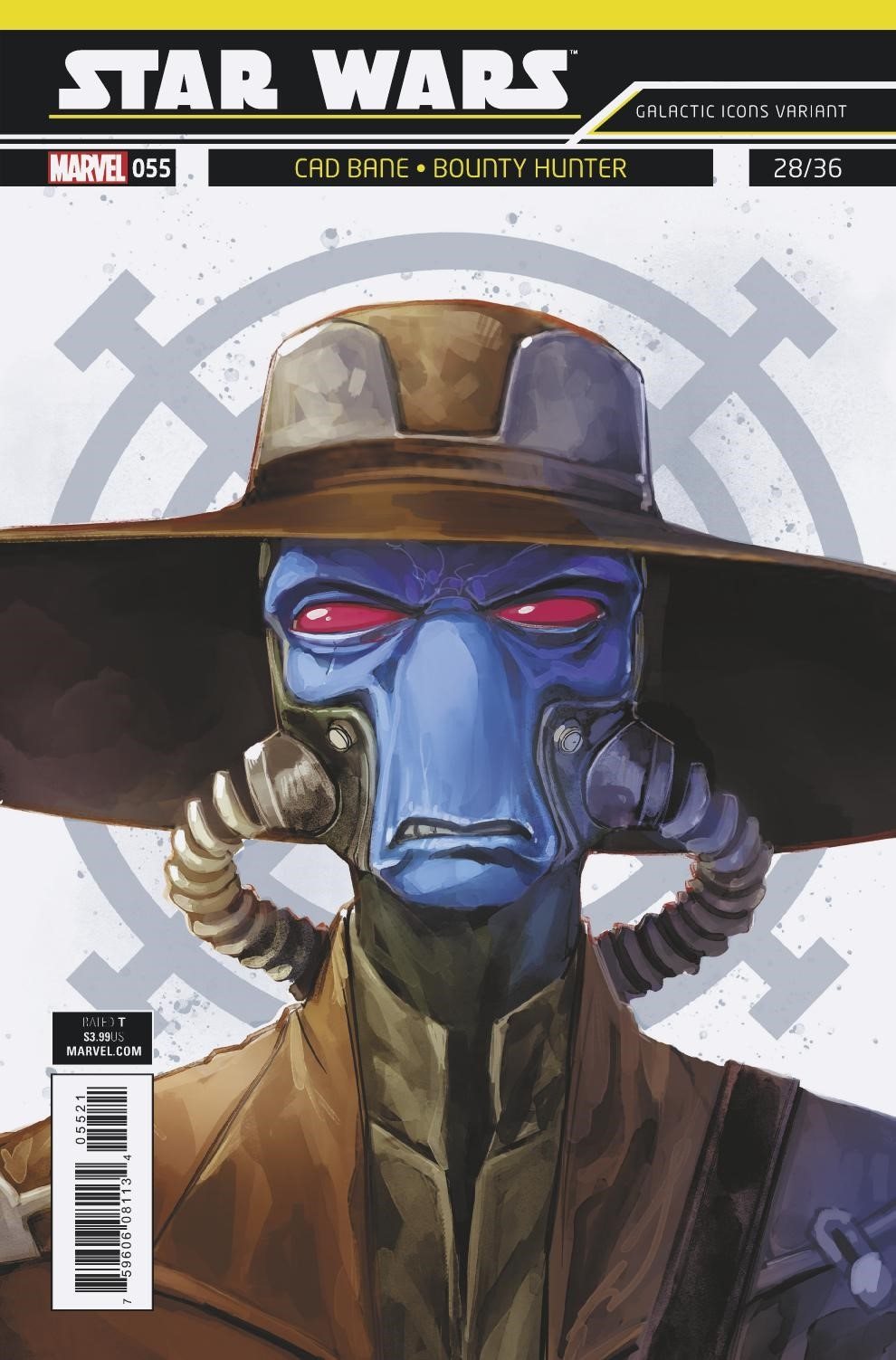 """Star Wars #55 (Rod Reis Galactic Icon """"Cad Bane"""" Variant Cover) (03.10.2018)"""