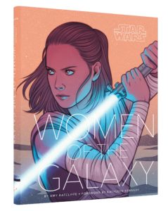 "<a href=""https://www.abramsandchronicle.co.uk/book/star-wars-women-of-the-galaxy/"" target=""_blank""><em>Star Wars: Women of the Galaxy</em></a> by Amy Ratcliffe, foreword by Kathleen Kennedy (Chronicle Books, £21.99)"