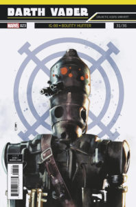 "Darth Vader #23 (Rod Reis Galactic Icon ""IG-88"" Variant Cover) (14.11.2018)"